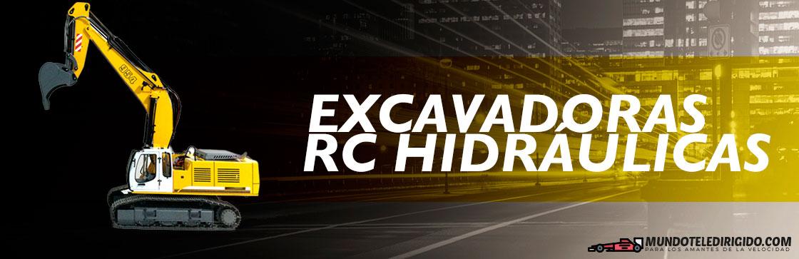 Mejores Excavadoras RC Hidráulicas