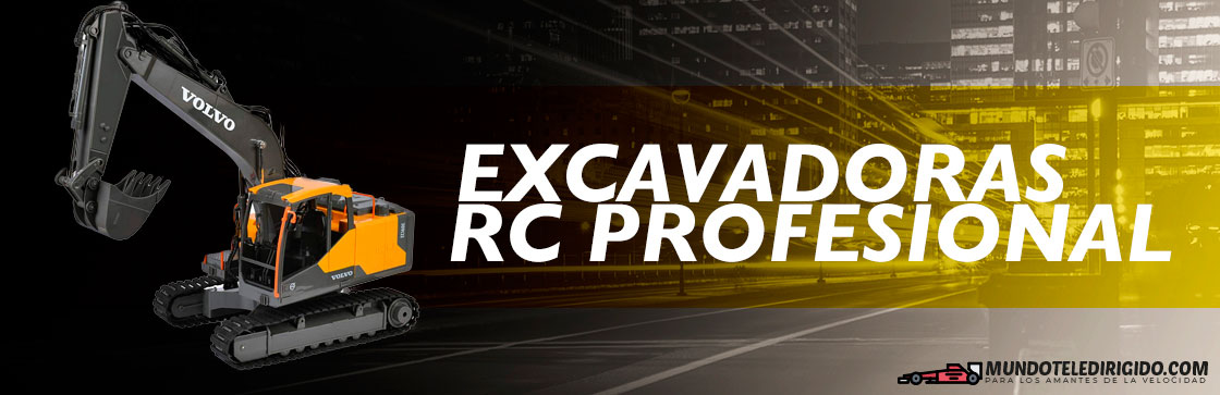 Mejores Excavadoras RC Profesionales