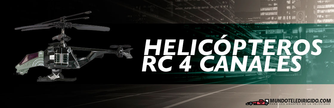 Mejores Helicopteros RC 4 Canales​