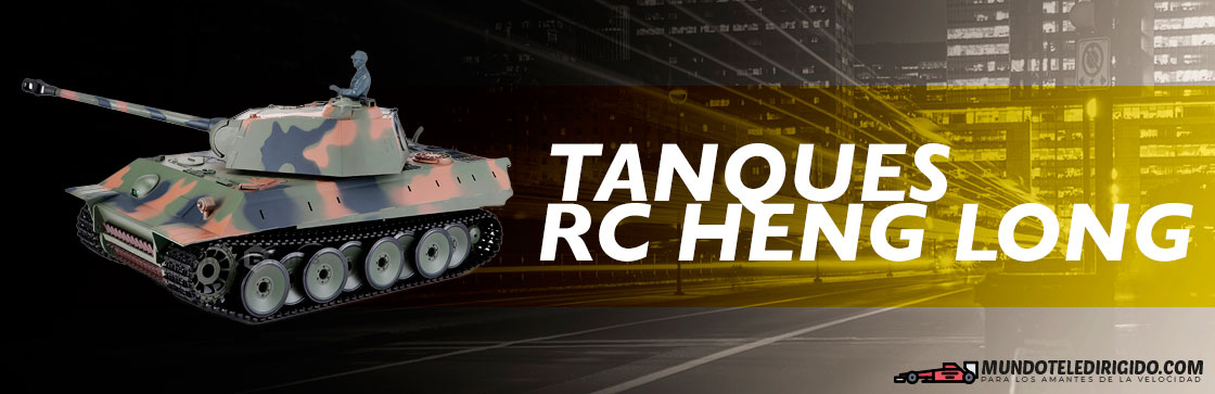 Mejores Tanques Teledirigidos Heng Long