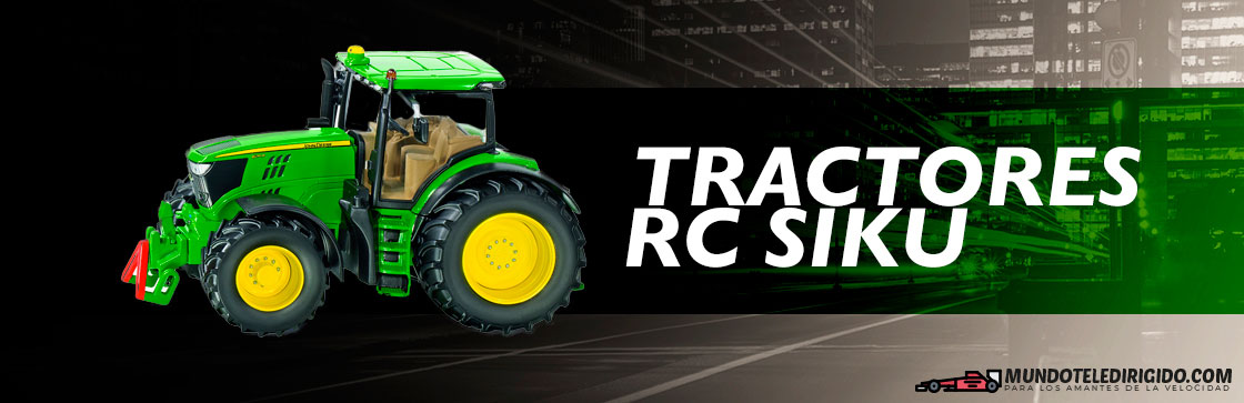 Mejores Tractores RC Siku