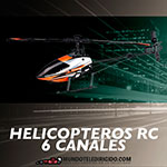 Helicópteros RC 6 Canales
