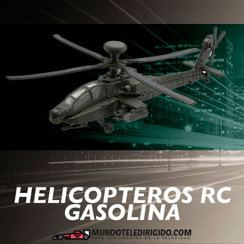 Helicópteros RC a Gasolina