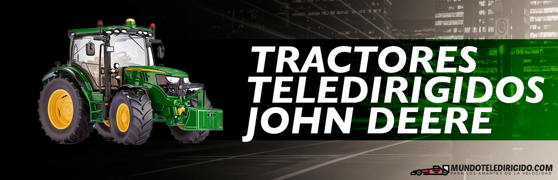 Mejores Tractores Teledirigidos John Deere